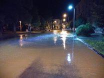 Elárasztotta a víz az utcát